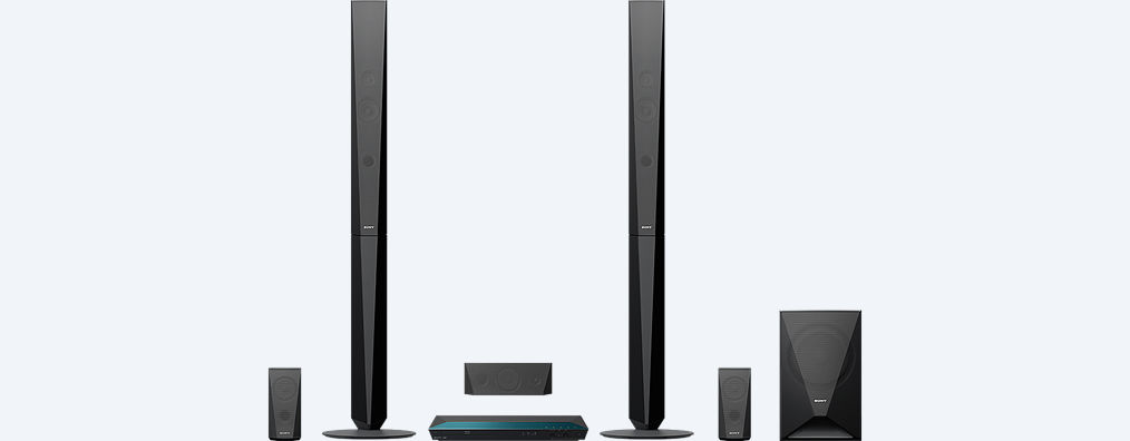 Blu Ray Home Cinema System With Bluetooth Bdv E4100