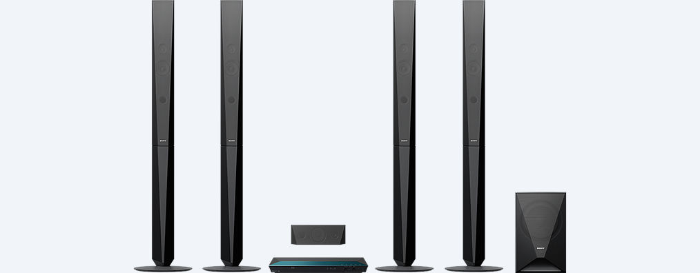 Blu Ray Home Cinema System With Bluetooth Bdv E6100