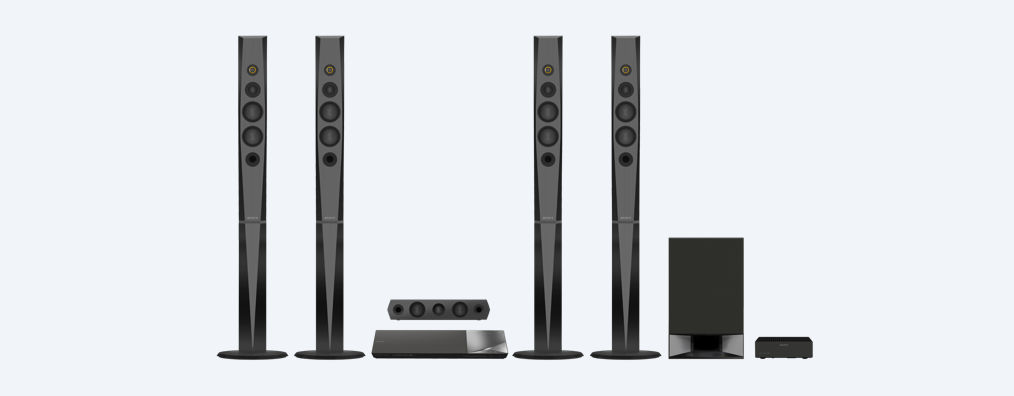Blu Ray Home Cinema System With Bluetooth Bdv N9200w