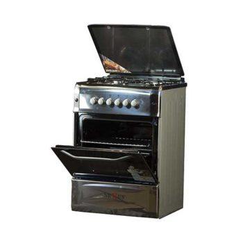 Nx 6003 Gas Cooker Silver Steel Steel 1.jpg